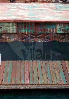 Foto Aparadores em madeira de demolição