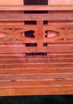 Foto Jogos de Bancos em madeira de demolição